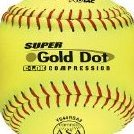 12-Inch Slowpitch Ys44rsa3 Protac ASA BallDozen by Worth