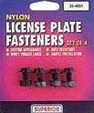 25-4001 Nylon License Plate Fasteners by Superior
