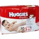 Snug  Dry Diapers Jumbo Pack Size 1 - 56 Count Pack o by Huggies