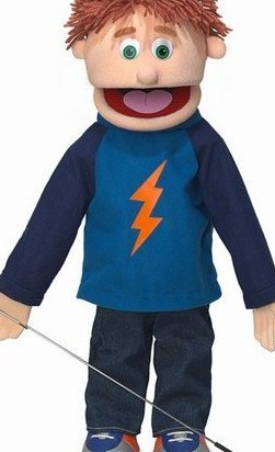 25quot; Tommy Peach Boy Full Body Ventriloquist Style by Silly Puppets