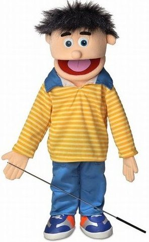 25quot; Bobby Peach Boy Full Body Ventriloquist Style by Silly Puppets
