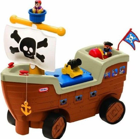 2-in-1 Pirate Ship by Little Tikes