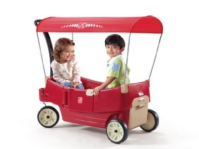 All Around Canopy Wagon Red by Step2