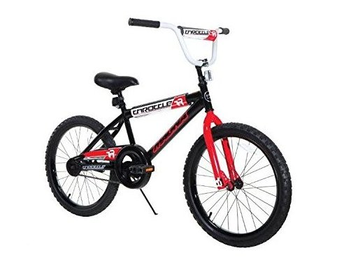 8109-34ztj Boys Throttle Magna Bike Black/Red/White 20 by Dynacraft