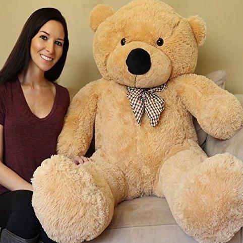 5 Feet Giant Teddy Bear - Sun Tan by Yesbears