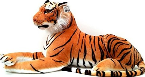 72 Inch Giant Orange Bengal Tiger Stuffed Animal Plush  R by Viahart