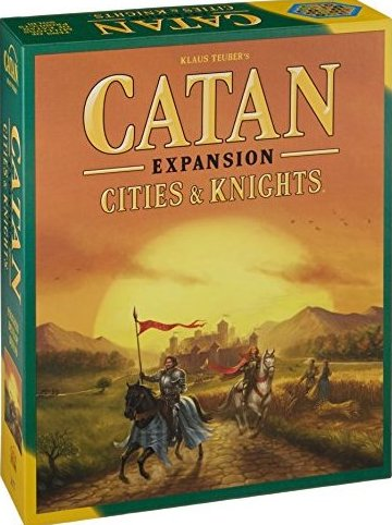 Catan: Cities  Knights Expansion by Catan Studios