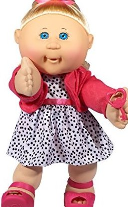 14quot; Kids - Blonde Hair/Blue Eye Girl Trendy by Cabbage Patch Kids