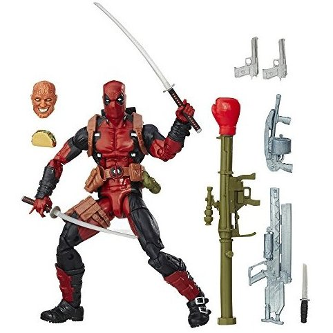 6 Inch Legends Series Deadpool by Marvel