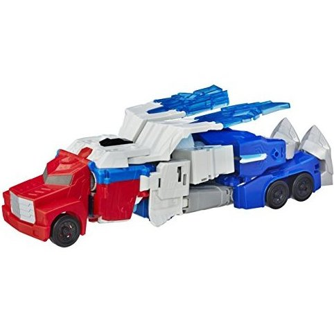 : Robots in Disguise Power Surge Optimus Prime and Aer by Transformers