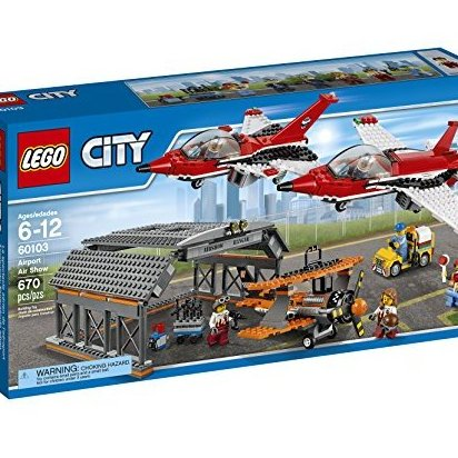 City Airport 60103 Airport Air Show Building Kit 670 Piece by LEGO