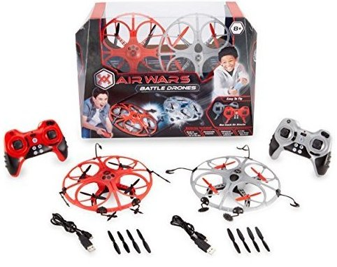 Battle Drones 2.4 GHz Toy 2 Pack by Air Wars