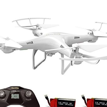 CW4 RC Drone with 720P HD Camera Altitude Hold Mode and by Cheerwing