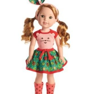 American Girl -  Willa Doll by Wellie Wishers