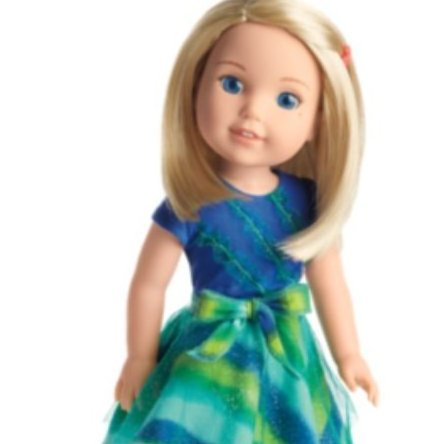 American Girl -  Camille Doll by Wellie Wishers