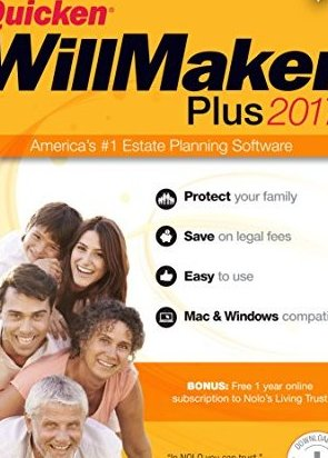 .com Quicken WillMaker Plus 2017 by Nolo