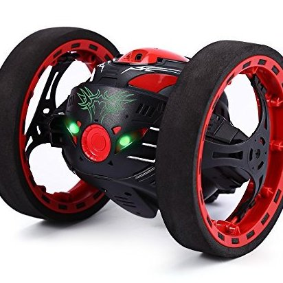 2.4GHz Wireless Remote Control Jumping RC Toy Cars for Ki by GearBest