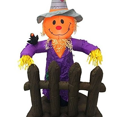 5 Foot Scarecrow Pumpkin Halloween Thanksgiving Autu by EasyGoProducts