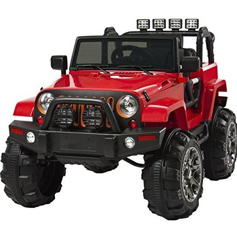 12V Ride On Car Truck W/ Remote Control 3 Sp by Best Choice Products
