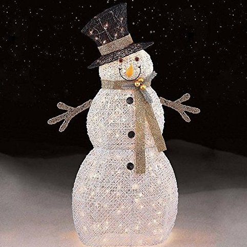 48quot; 150ct White Snowman by Trim A Home