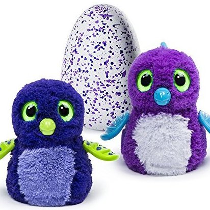 BLUE OR Purple Draggle Hatchimal - Interactive Hatching by Spin Master