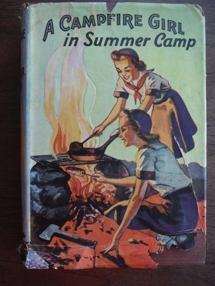 A Campire Girl in Summer Camp (Campfire Girl Series, Volume 3)