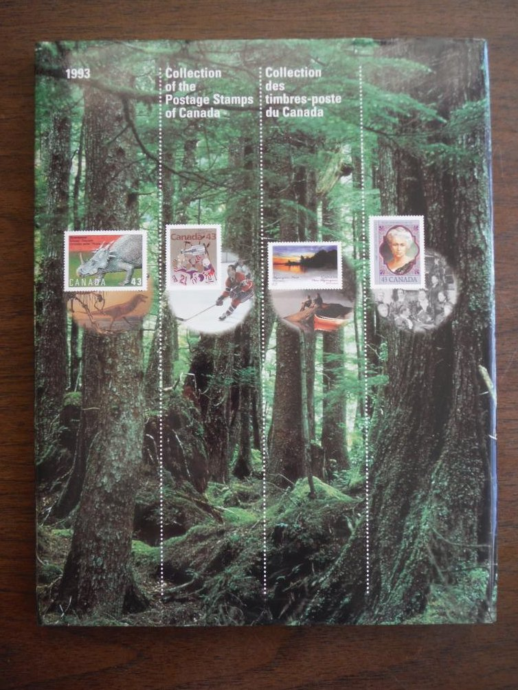 1993 Collection of the Postage Stamps of Canada