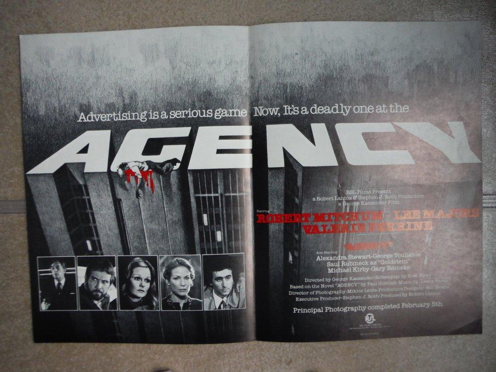 Agency (Movie Poster)