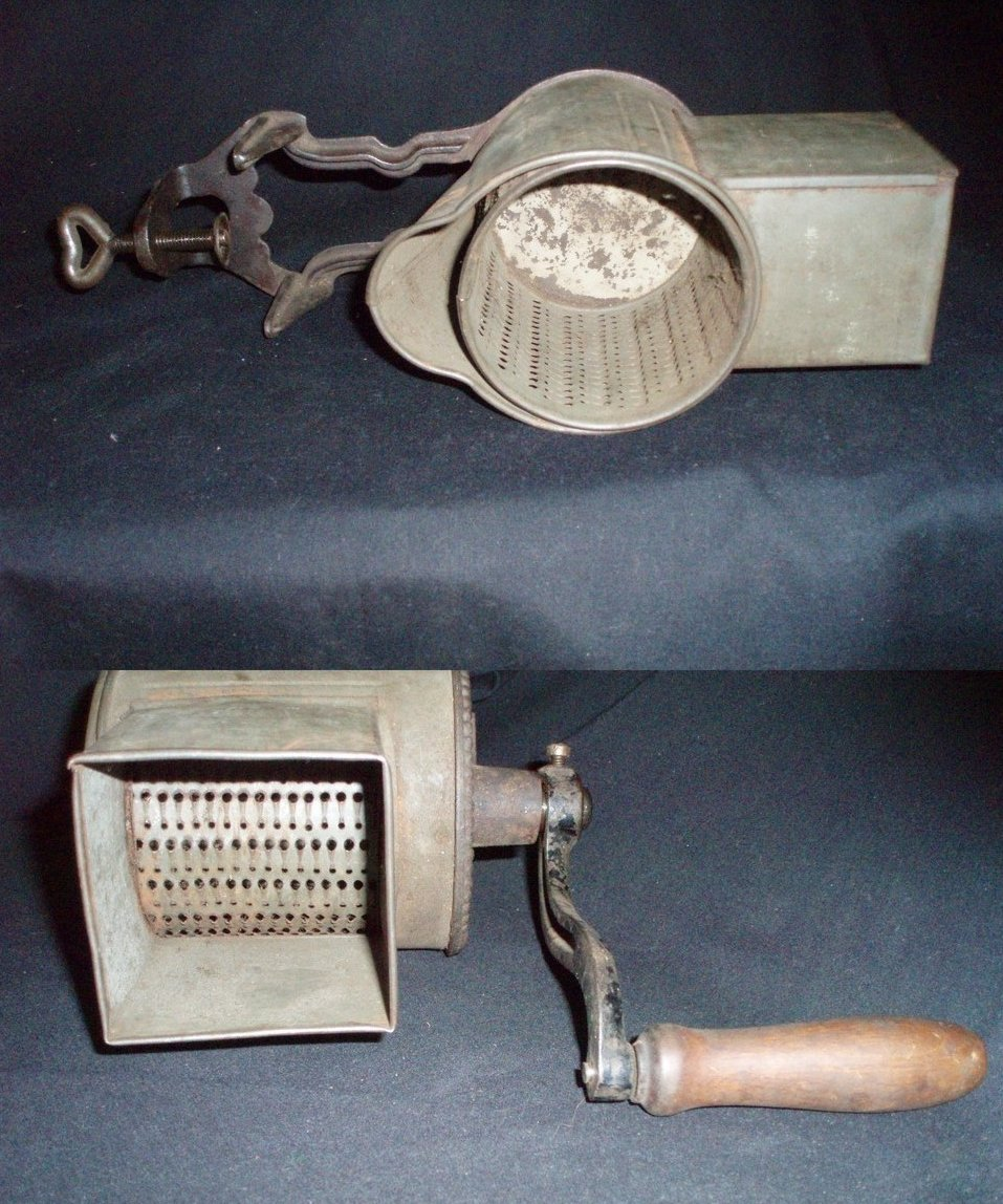 Image 1 of German Regina food mill grinder chopper grater antique large