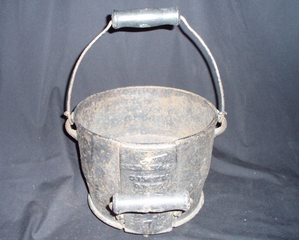 Antique Cast Iron Safety Kettle J H Day & Company cookware