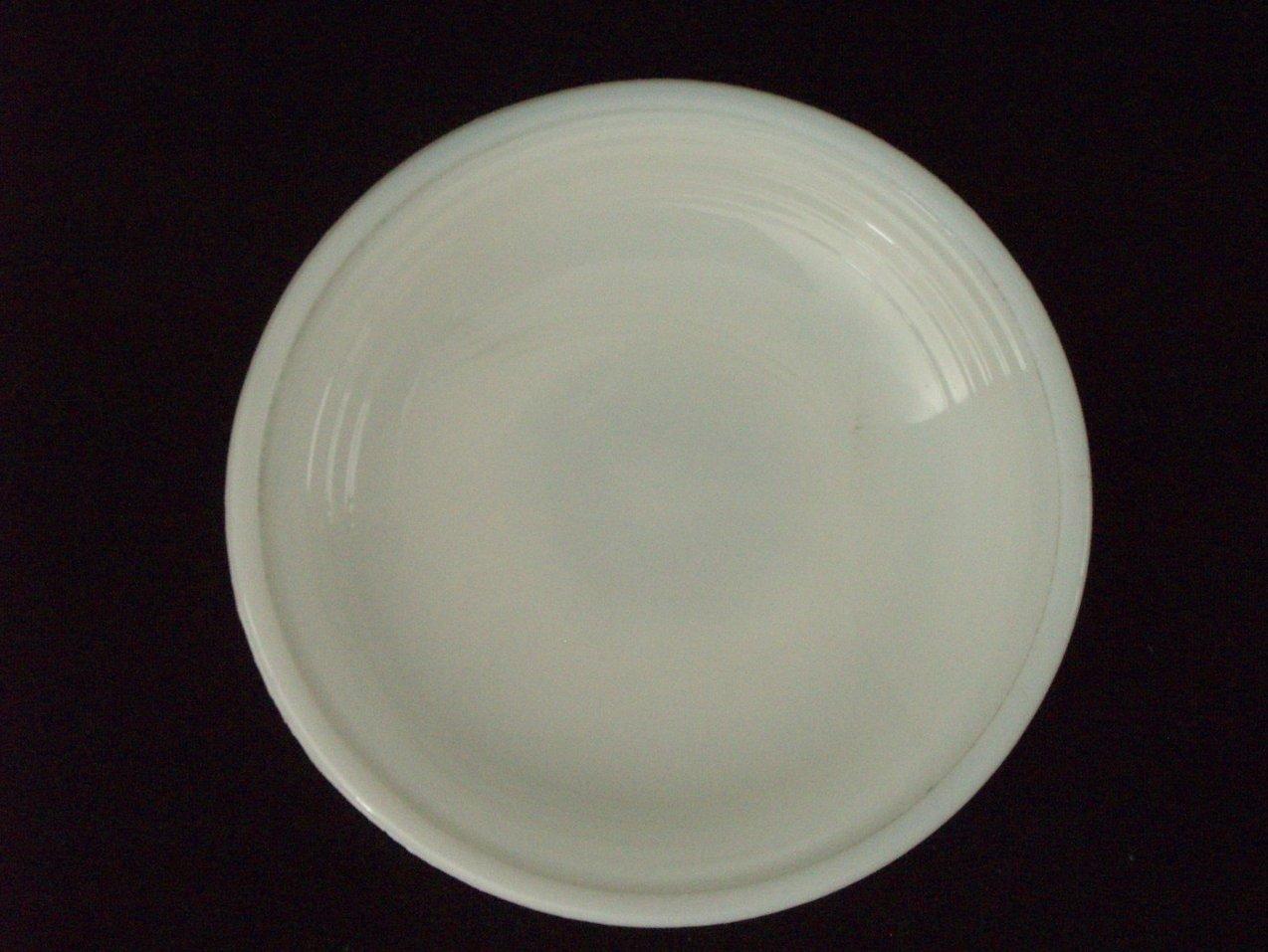 '.Akro Agate white plate.'