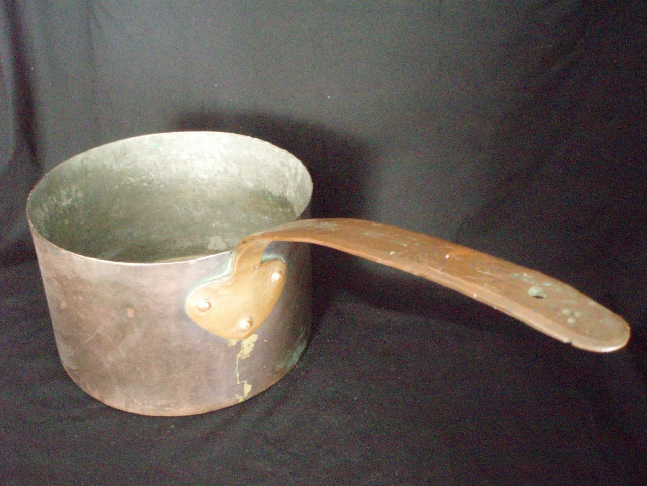 5 Quart  antique copper pot cookware