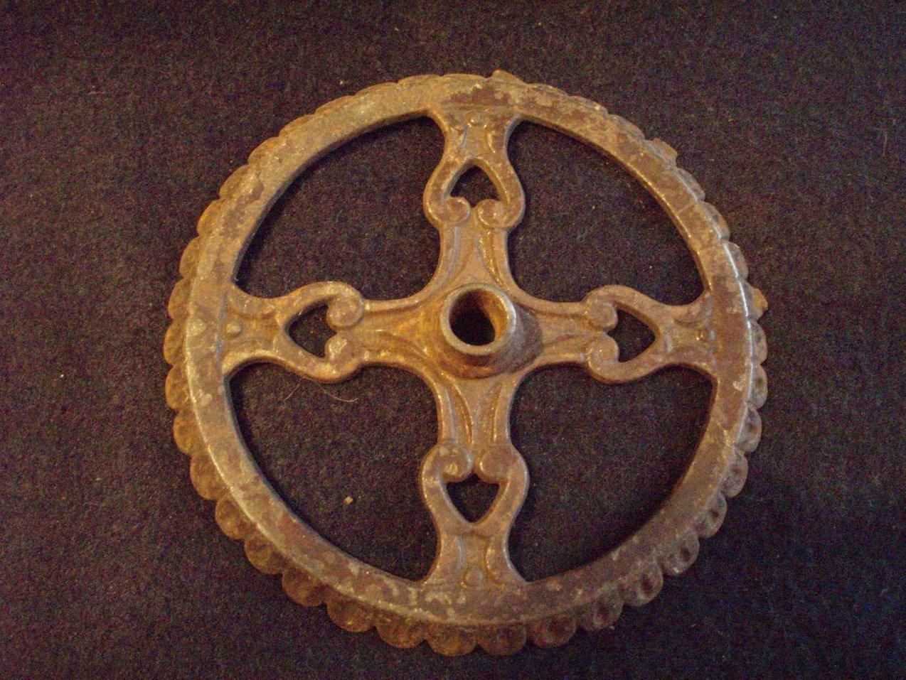Antique oil lamp font basket wall mount hardware