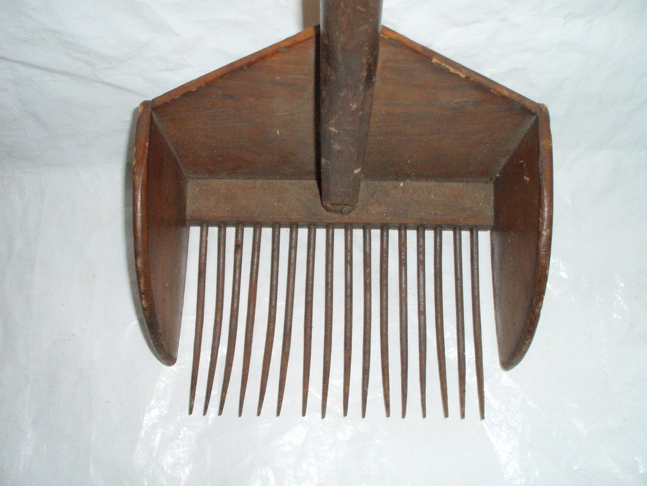 antique Cape Cod Cranberry rake primitive scoop