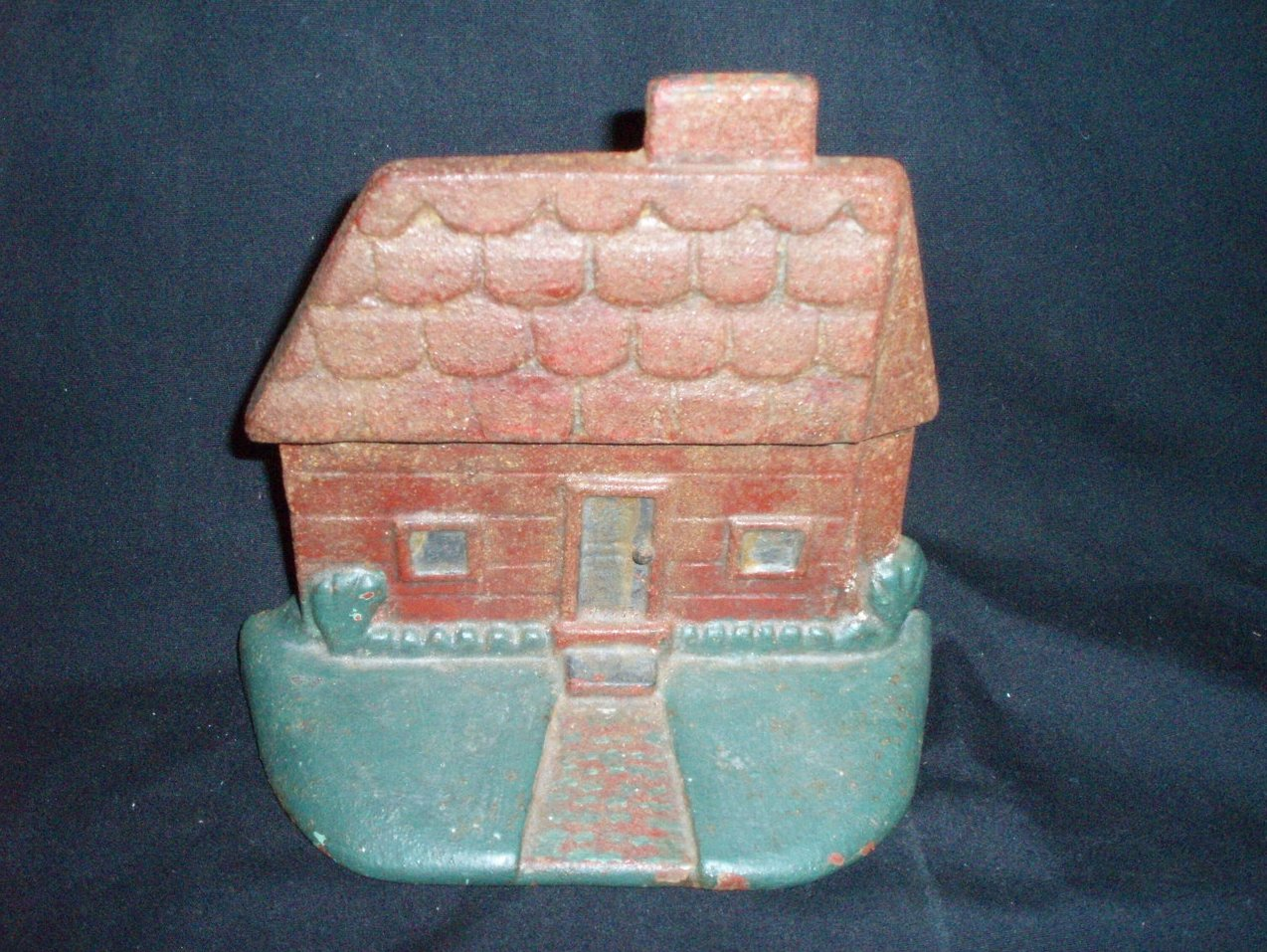 Cottage Home cast iron door stop vintage