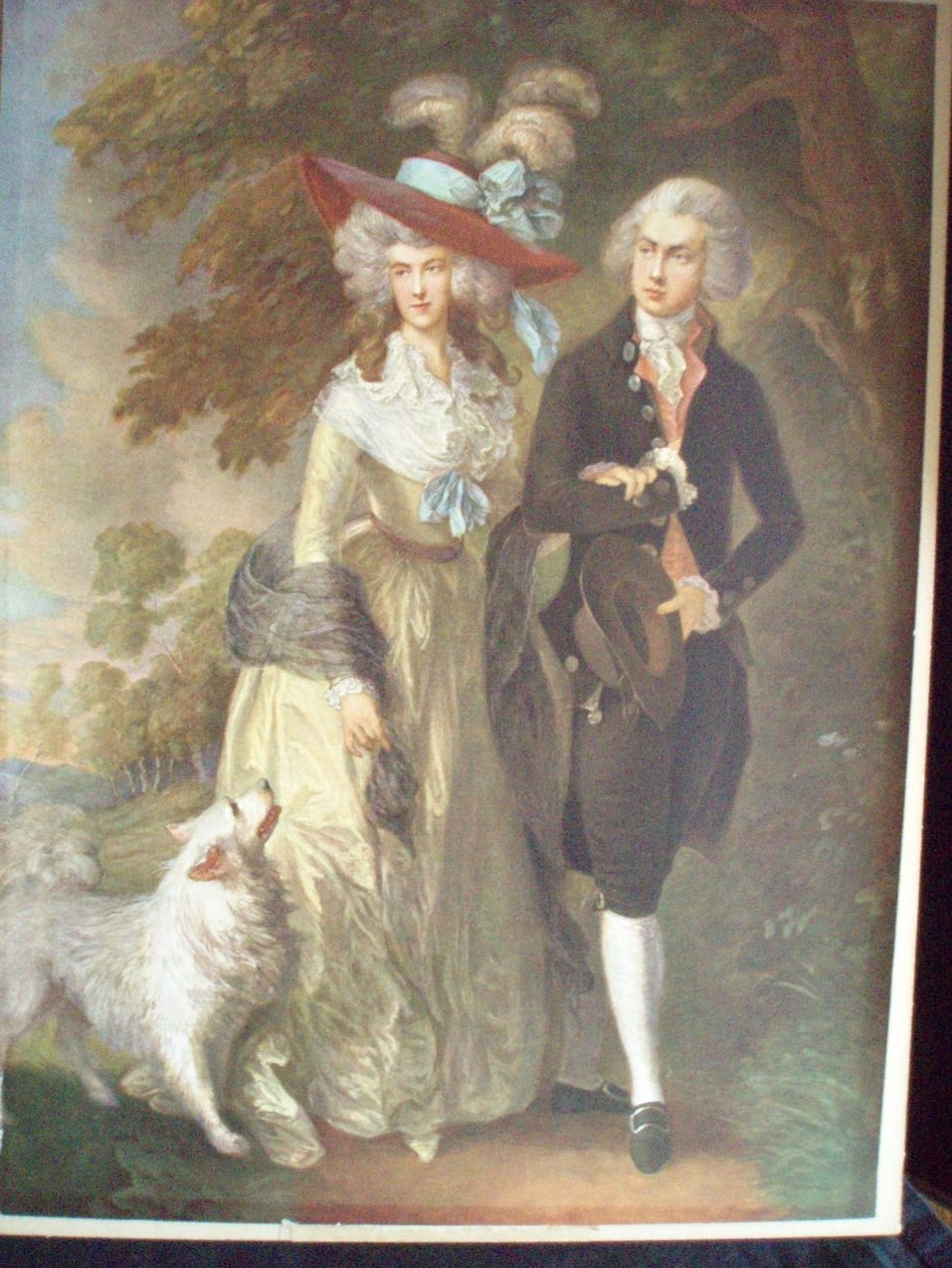 T Gainsborough Mr & Mrs Hallett authentic print Morning Walk