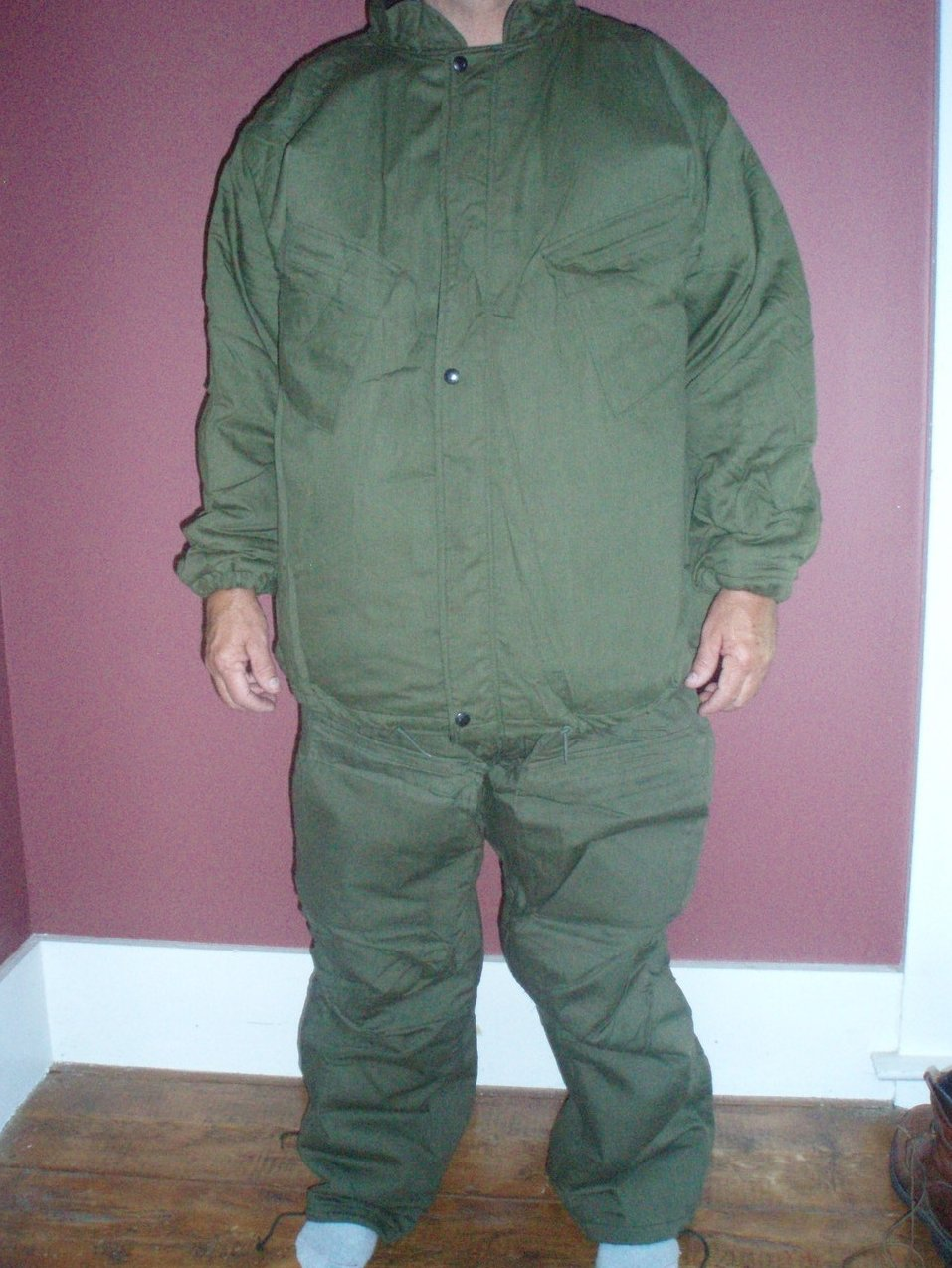 US Military protective Chemical suit 8415004071063 Men XL