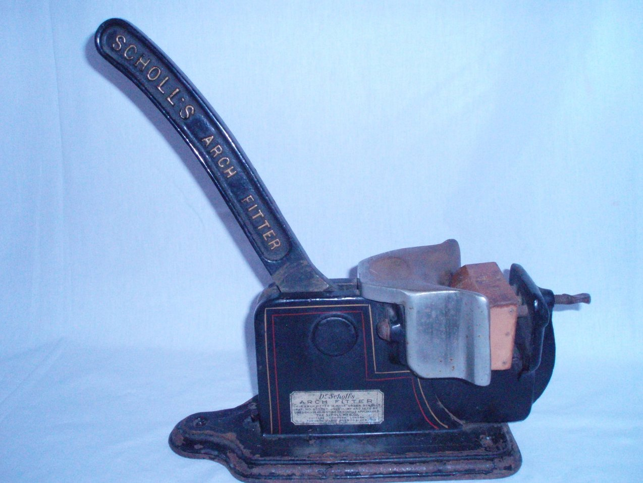 Antique Dr Scholl's Arch Fitter Cobblers Mold