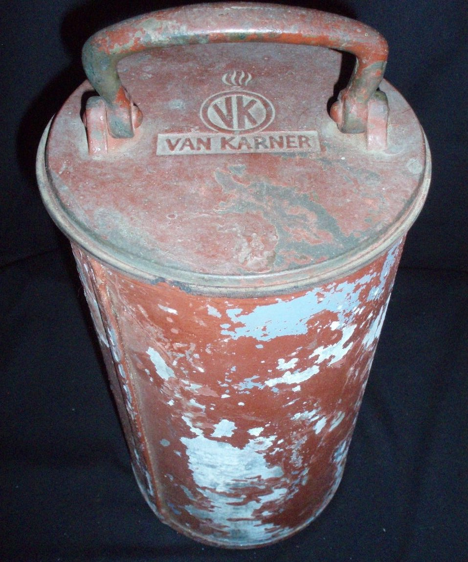Van Karner Co WWII German Navy Submarine Flare Holder