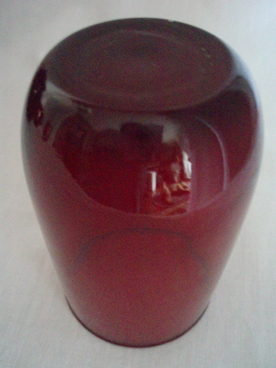 Image 1 of Anchor Hocking Royal Ruby Red 42 oz tilt Pitcher & 8 Juice tumblers vintage