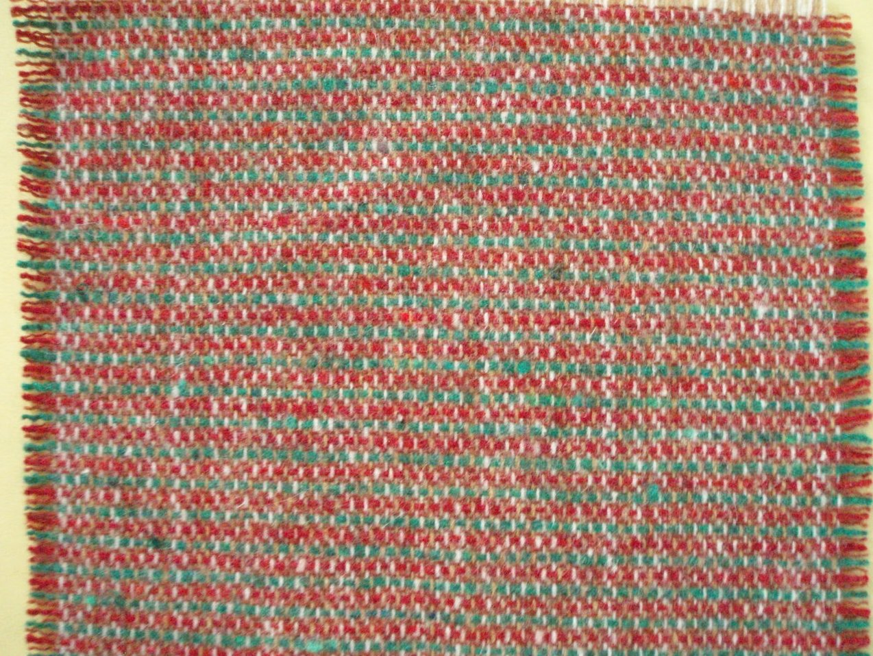 Dollhouse miniature Carpet woven wool 6 x 5