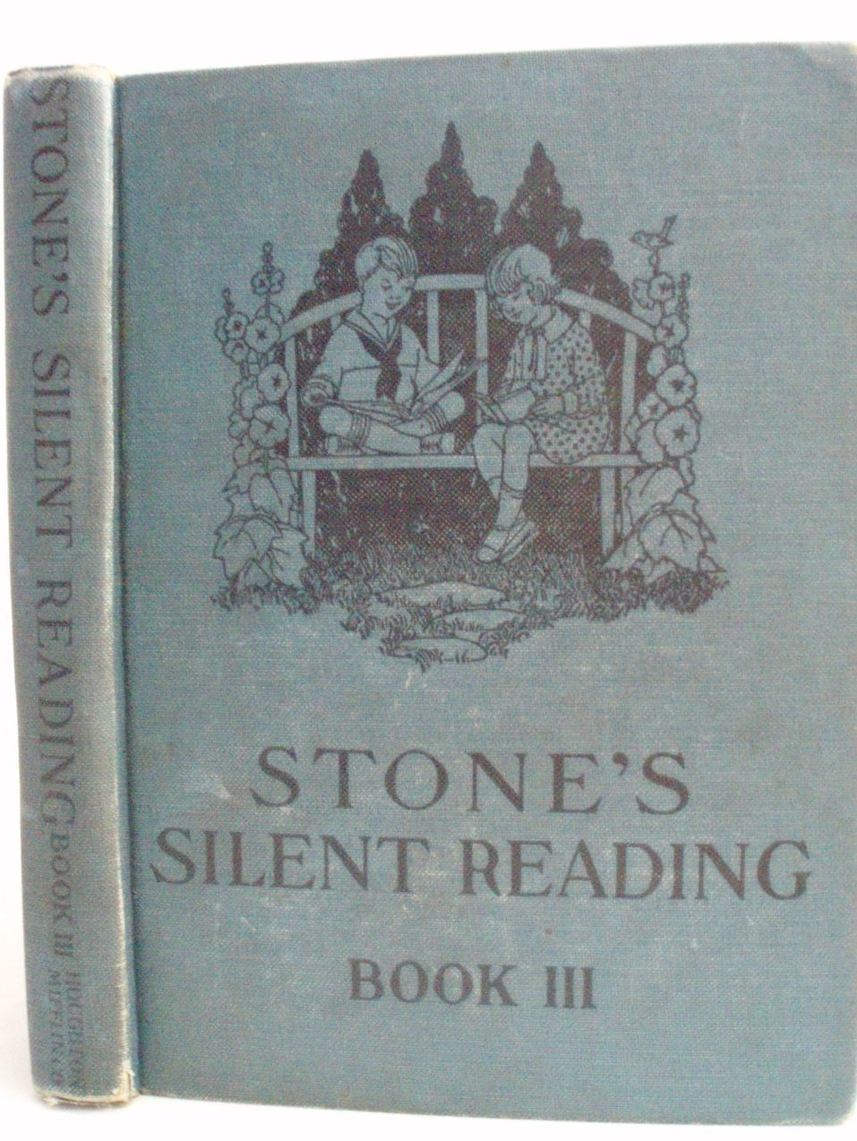 Child's 3rd Reader Book Stone's Silent Reading Stone