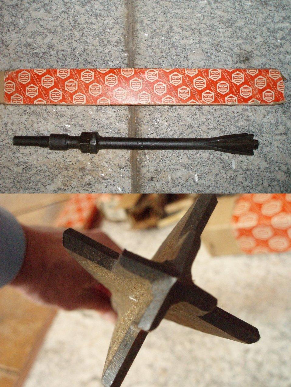 Black and Decker stone rock mason star drill bit 2 x 18 USA