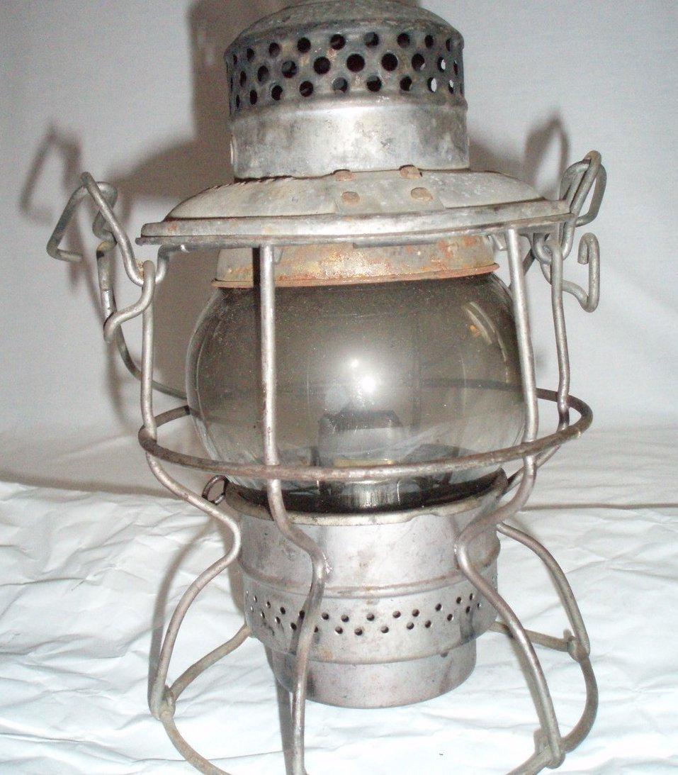 Vintage CNR Hiram Piper RR Lantern