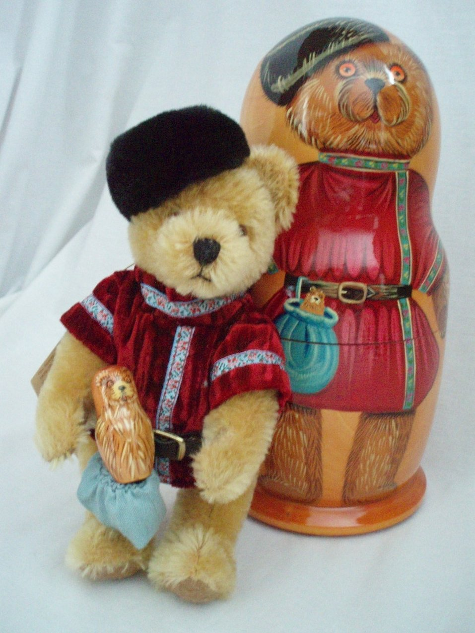 Image 0 of Hermann Spielwaren Matryoshka Bear  Limited Edition