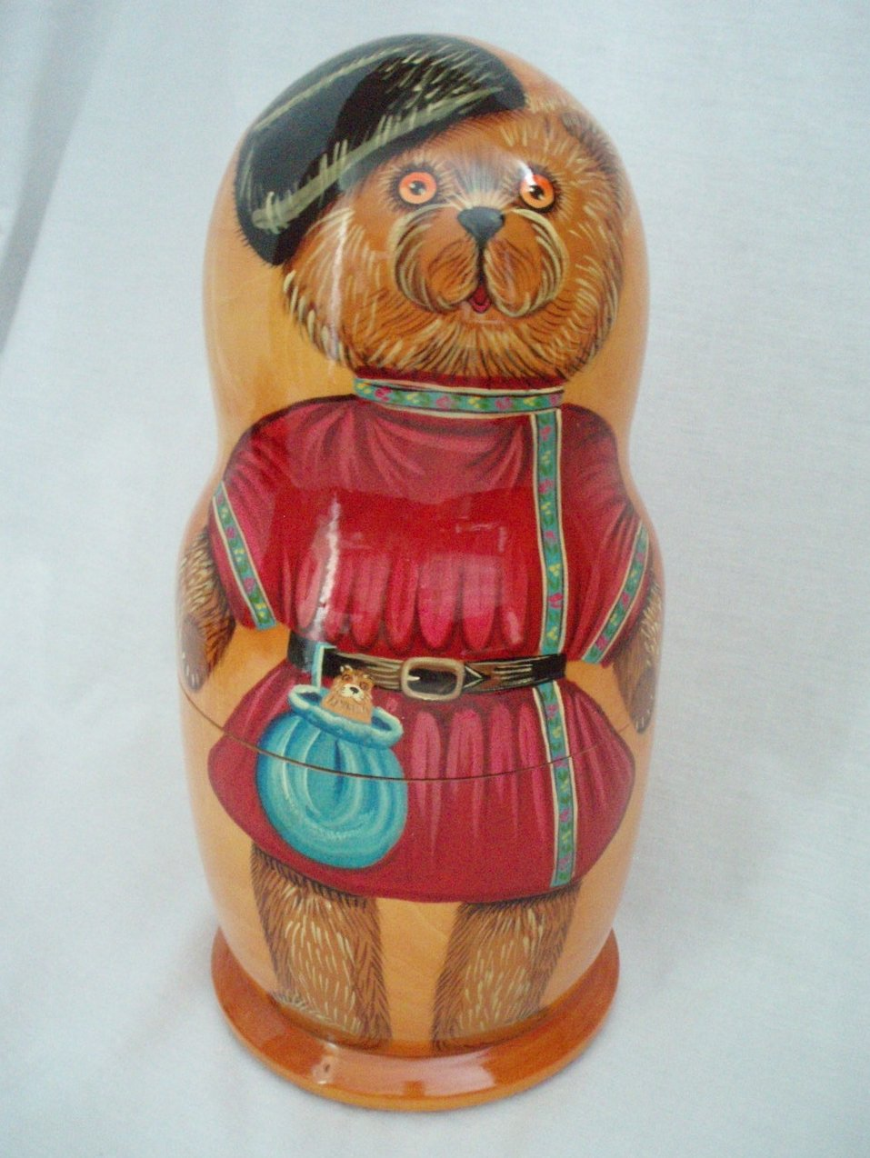 Image 4 of Hermann Spielwaren Matryoshka Bear  Limited Edition