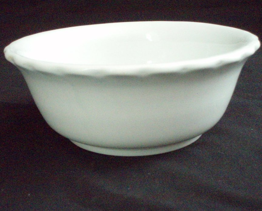 Antique ironstone John Edwards 7 inch Bowl