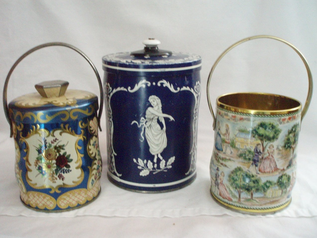 3 Tins Wedgwood and Murray Allen vintage