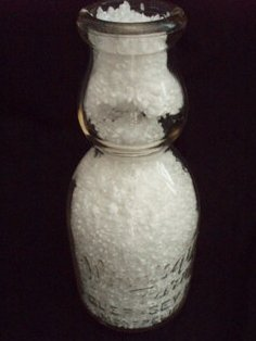 Winnisquam Farm VT Cream top Milk Bottle Embossed