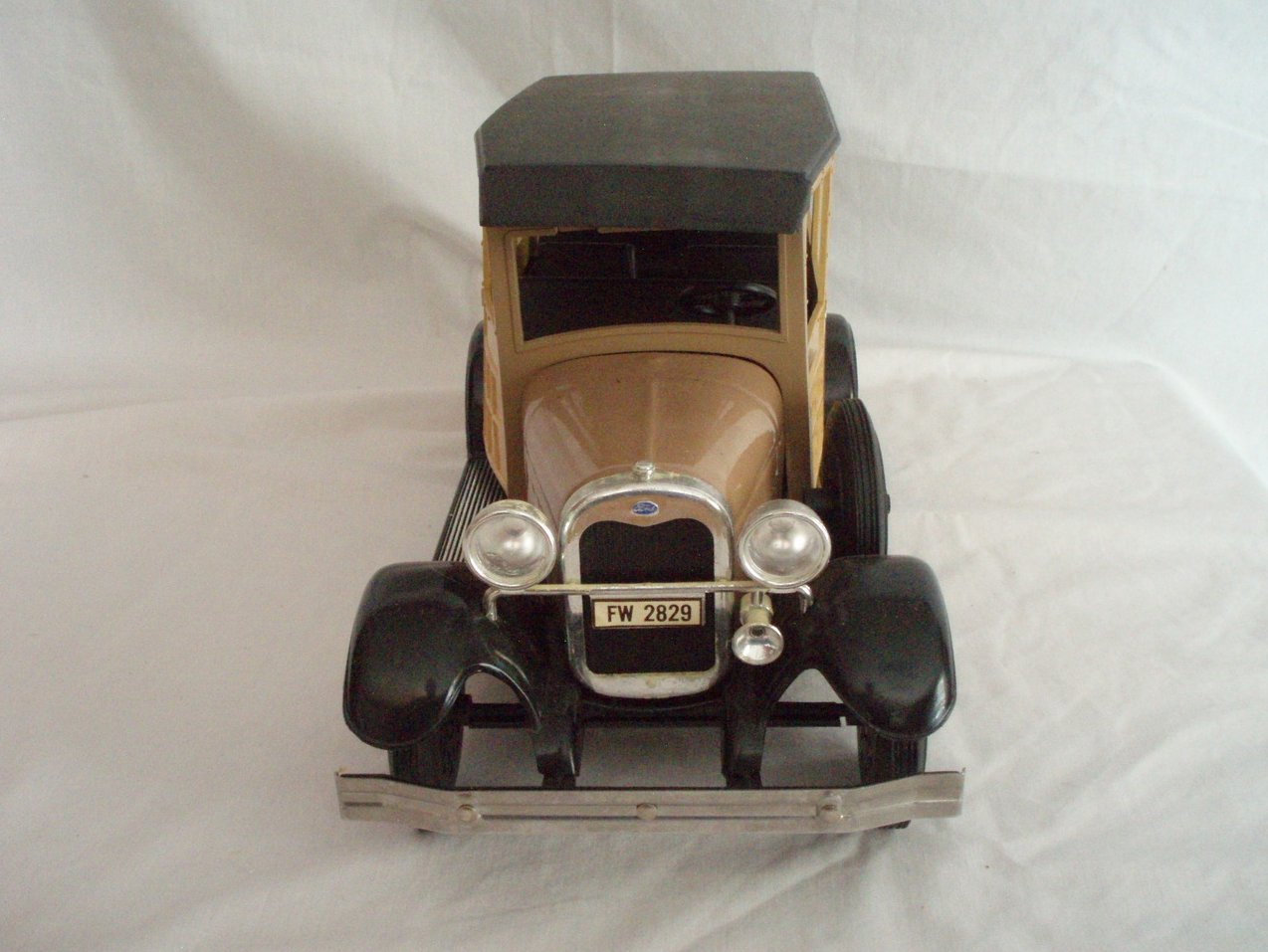 Image 5 of Beam Whiskey Decanter 1929 Ford Woodie Wagon W/Box and Papers